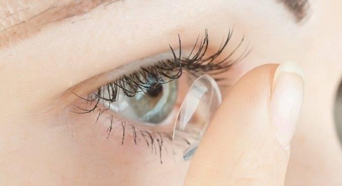 Расплывается изображение при ношении контактных линз
