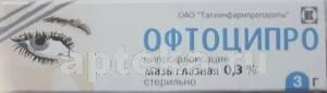 Офтоципро мазь глазная: инструкция по применению, цена, аналоги и отзывы