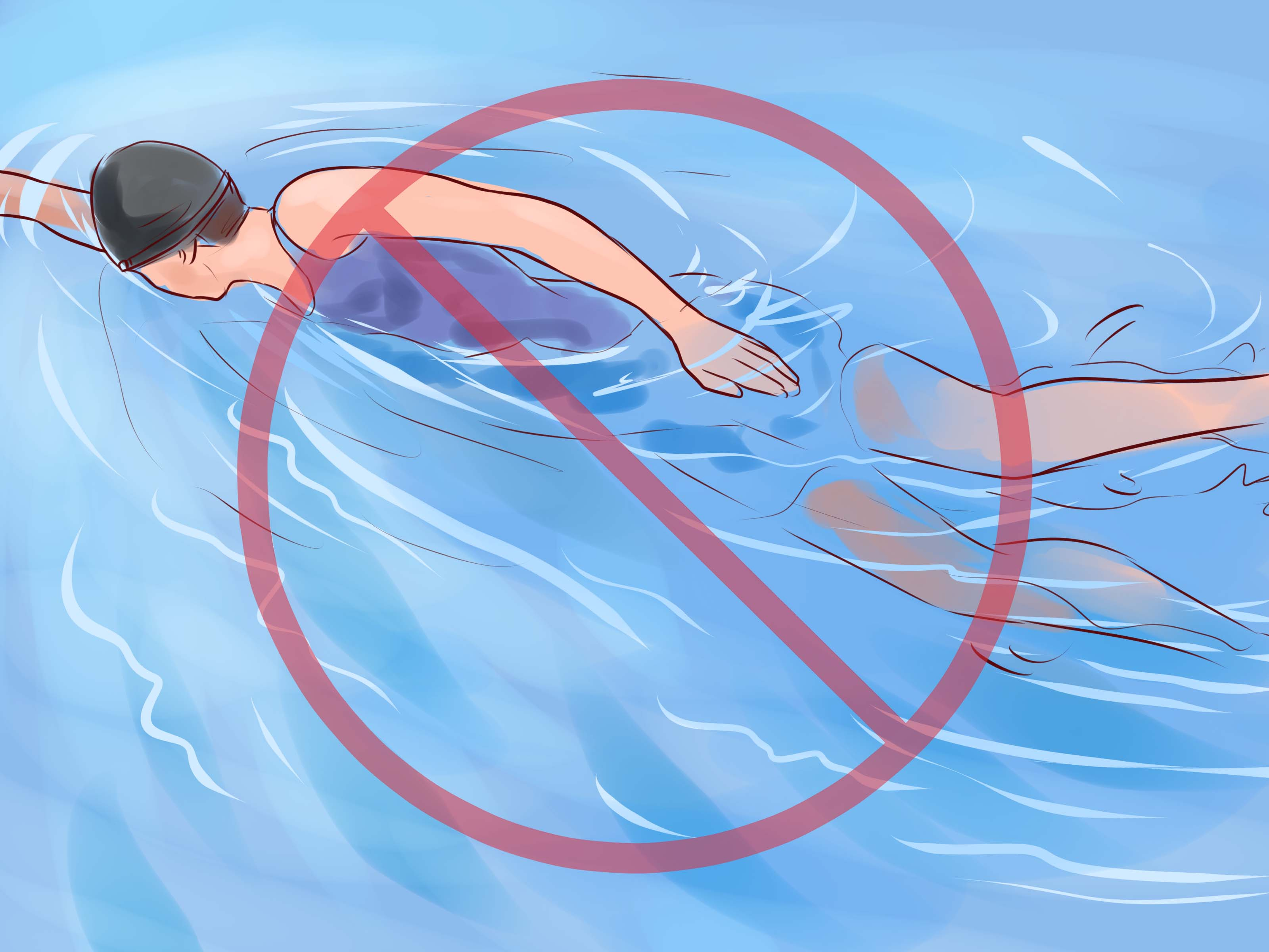 Как плавать и купаться в контактных линзах