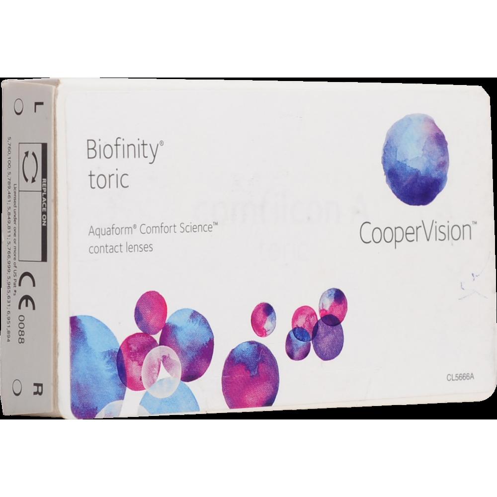 Линзы biofiniti cooper vision – отзывы про контактные