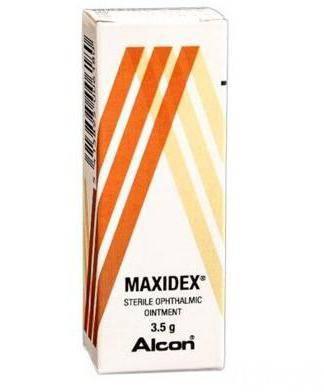 Максидекс: инструкция по применению, аналоги, цена, отзывы