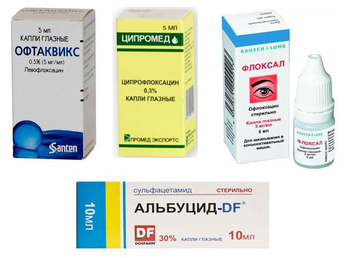 Левомицетин (глазные капли) для детей: с какого возраста можно