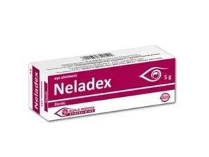 Капли неладекс глазные: инструкция по применению, отзывы