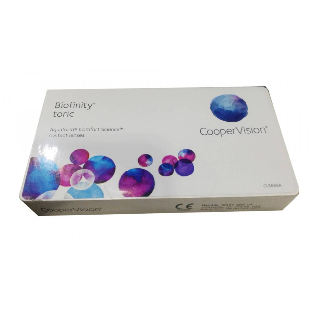 Биофинити линзы - отзывы про контактные biofinity cooper vision