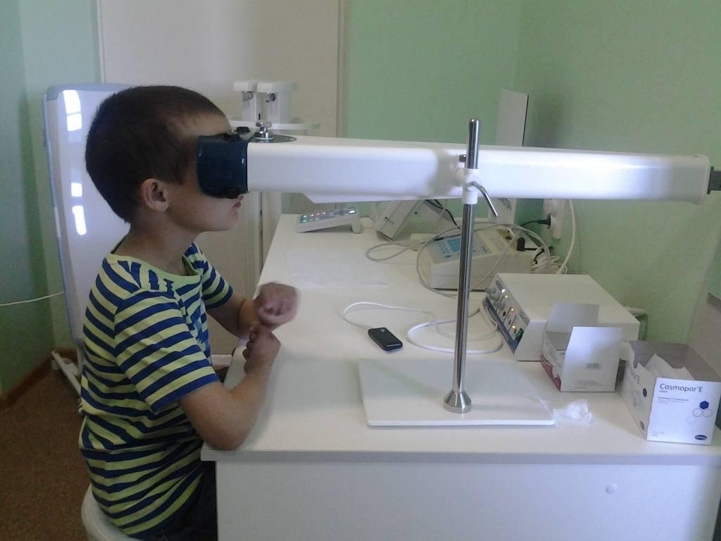 Глазной прибор форбис