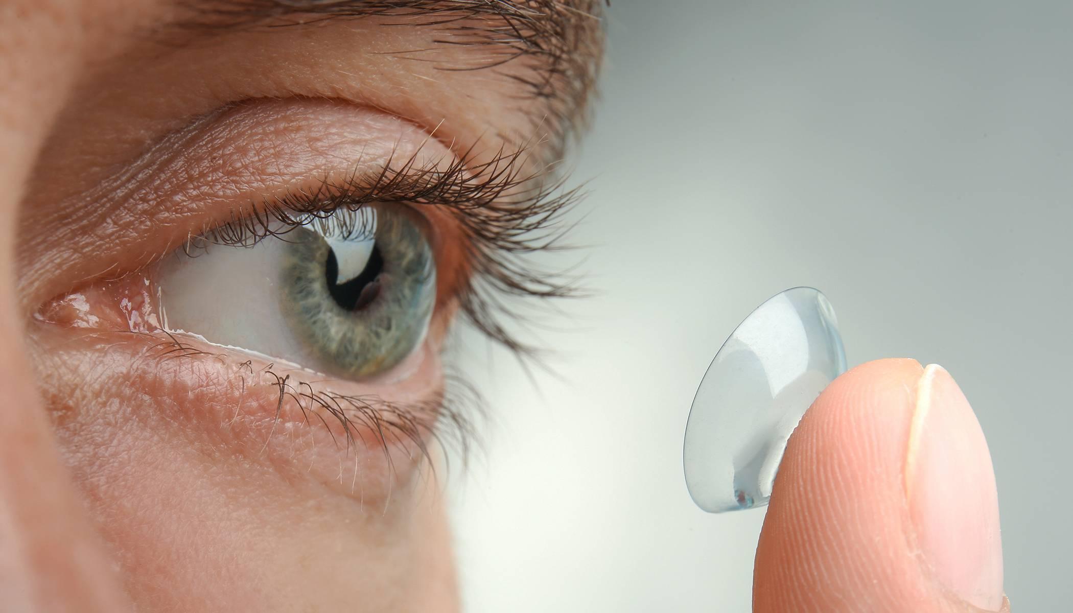 Кто изобрел контактные линзы
