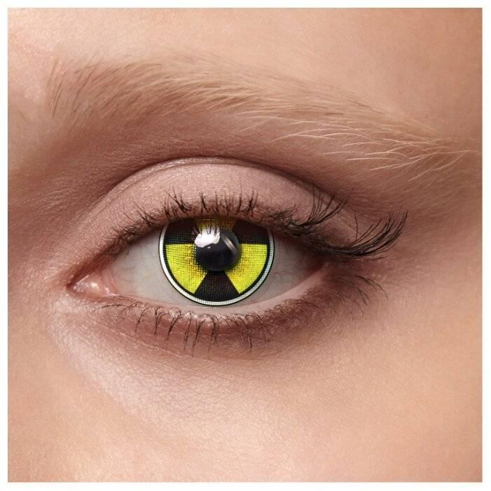 Линзы карнавальные цветные для черных глаз, карих, не для зрения, голубых, вредны ли