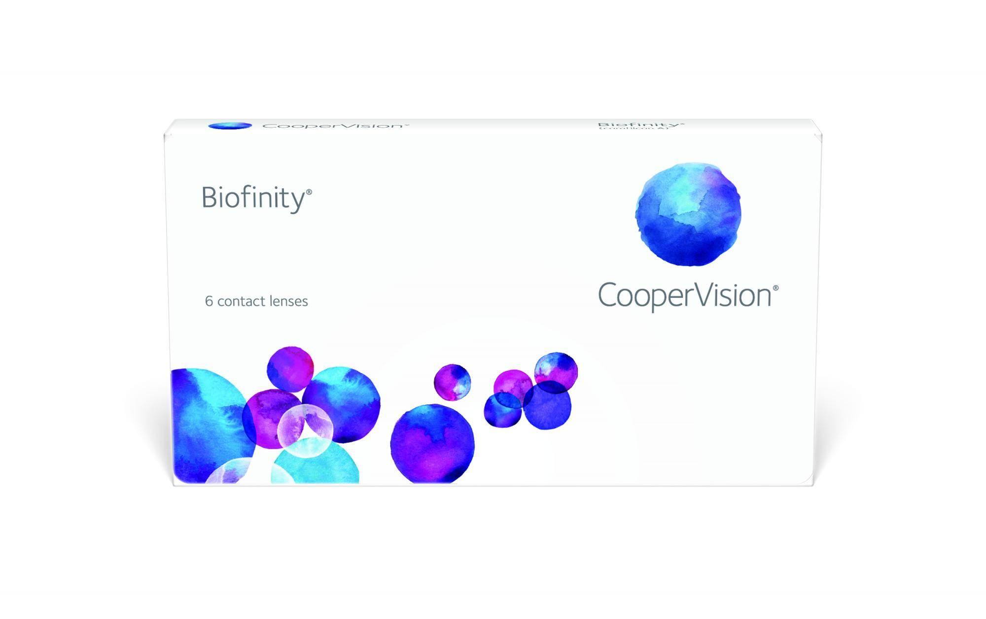 Контактные линзы biofinfty (биофинити): виды, характеристики