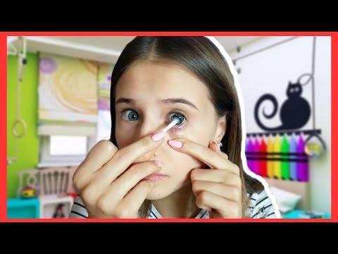 Как снимать и надевать контактные линзы правильно