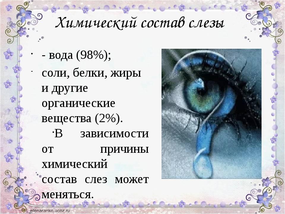 К чему слезится правый или левый глаз: народные приметы