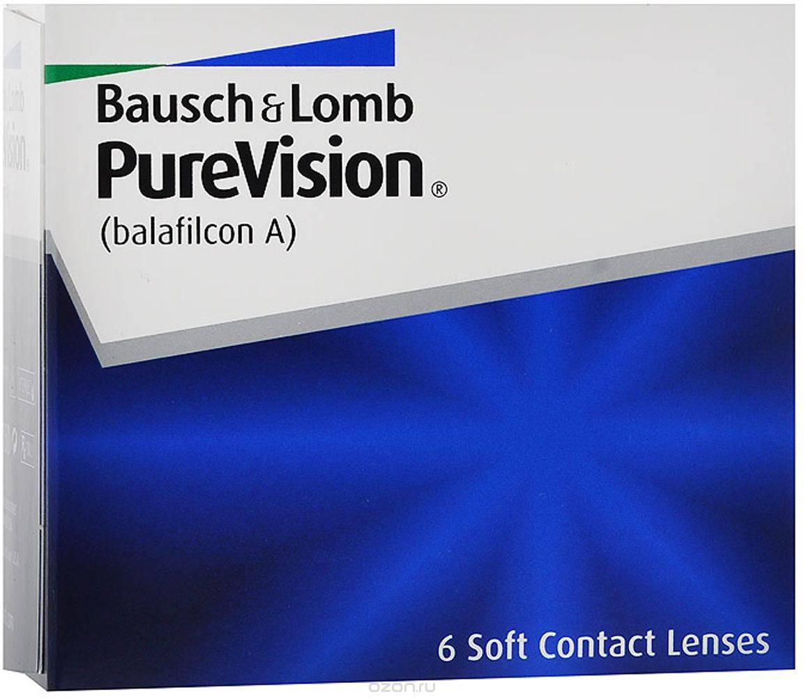 Pure vision  обзор контактных линз