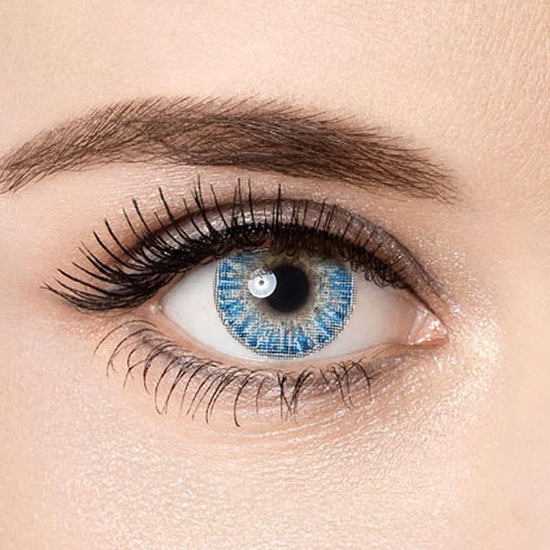 Как подобрать цветные линзы для карих глаз