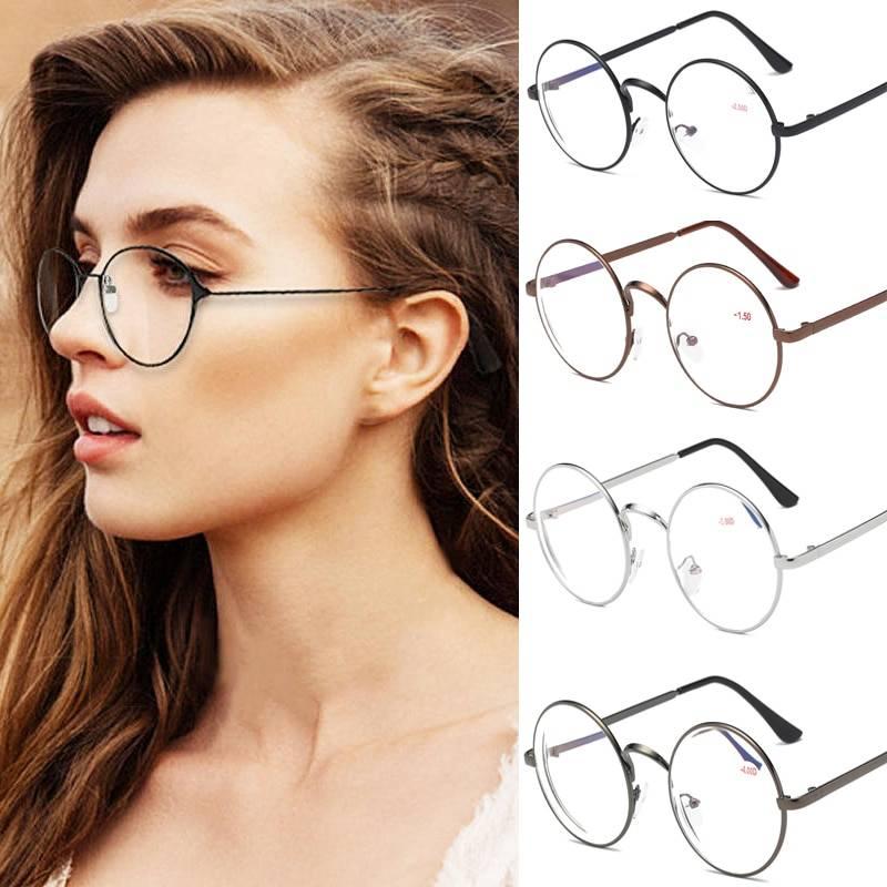 Как правильно подобрать женские очки для круглого типа лица