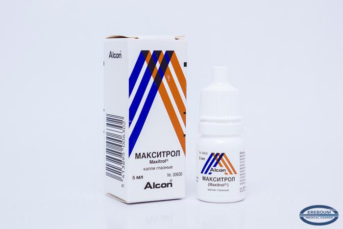 Макситрол — препарат для глаз. инструкции, показания, отзывы и аналоги