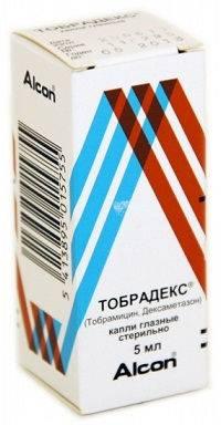 Какой препарат лучше «тобрекс» или «тобрадекс» | в чем разница