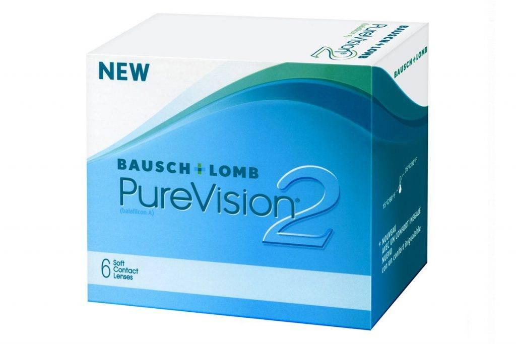 Контактные линзы pure vision 2 hd: обзор моделей и отзывы