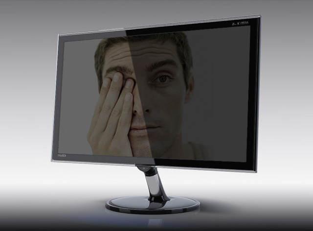 Устают глаза при работе за компьютером — как настроить правильно монитор