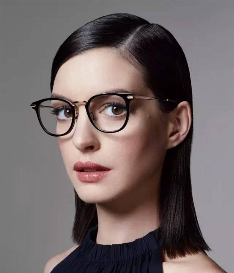 100 лучших идей: модные женские очки для зрения 2017 на фото