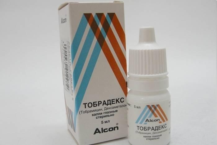 Капли тобрамицин глазные – инструкция по применению антибиотика