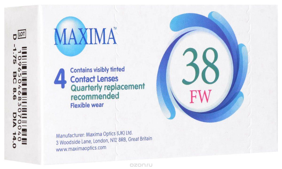 Контактные линзы maxima: характеристика и отзывы