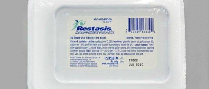 Рестасис® (restasis)