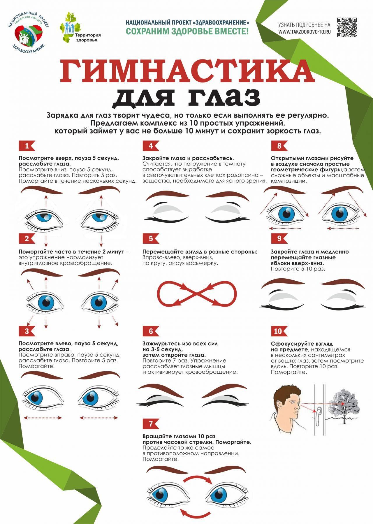 Эффективные упражнения для глаз при работе на компьютере oculistic.ru эффективные упражнения для глаз при работе на компьютере