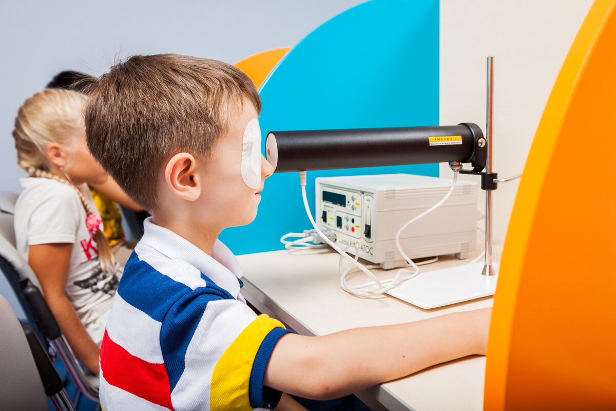 Аппаратная коррекция зрения у детей ? информационный портал детское зрение