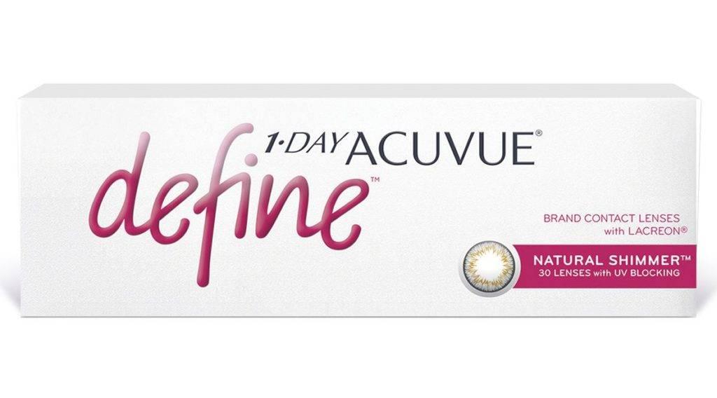 Отзывы контактные линзы johnson & johnson 1-day acuvue define » нашемнение - сайт отзывов обо всем