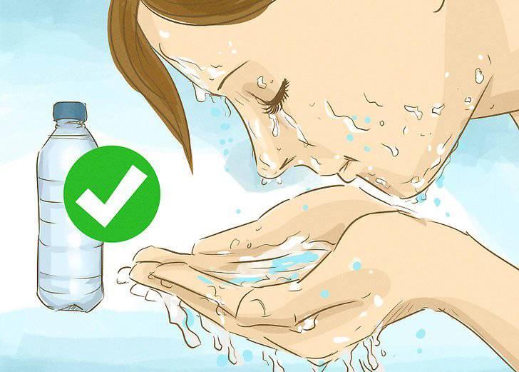 Что делать если масло попало в глаз (репейное, касторовое, эфирное, подсолнечное) горячее