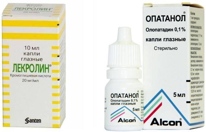 Капли для глаз от конъюнктивита: обзор препаратов