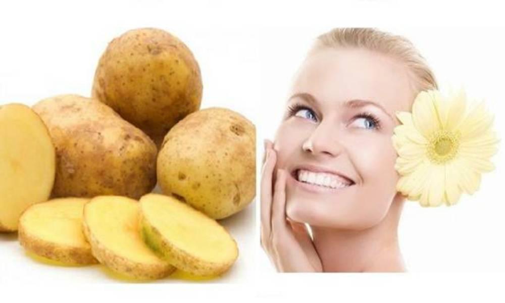 Маски из картофеля для кожи лица: от морщин, мешков под глазами