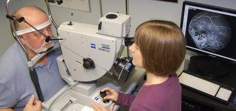 Флуоресцентная ангиография сетчатки противопоказания