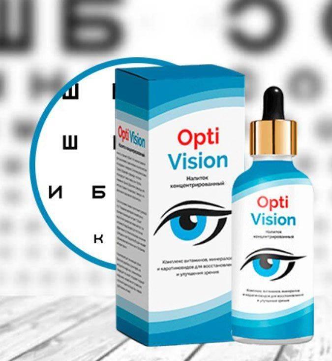 Капли для зрения optivision – состав, инструкция, отзывы