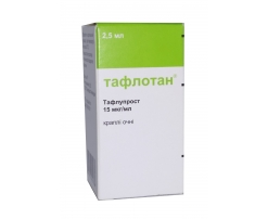 Тафлотан: инструкция по применению, отзывы и аналоги, цены в аптеках