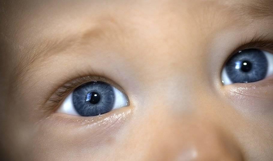 Синяки и темные круги под глазами у ребенка