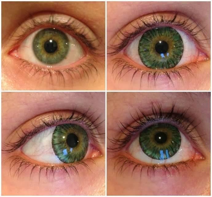 Не вредны ли цветные контактные линзы для глаз? особенности использования цветных линз