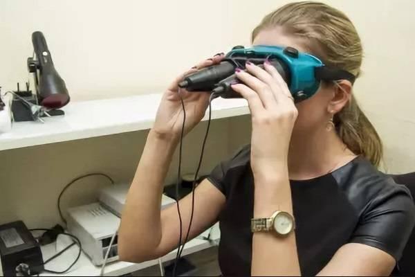 Цветоимпульсная терапия для лечения глаз