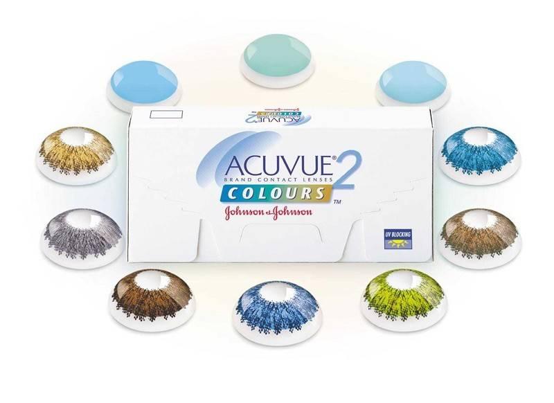 Acuvue 2 colours — оттеночные контактные линзы
