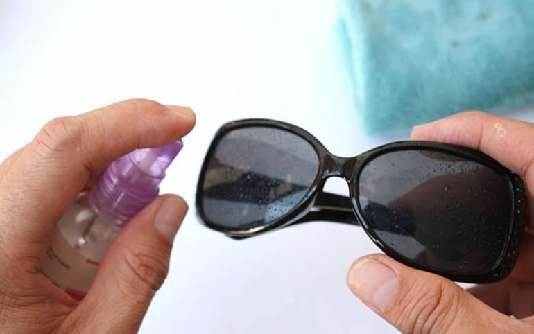 Как отполировать стекла очков в домашних условиях