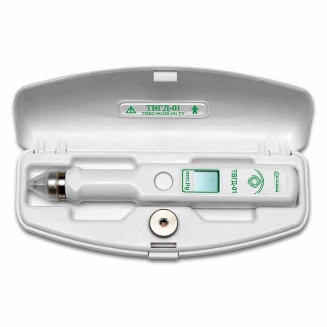 Тонометр внутриглазного давления: бесконтактная методика портативным домашним прибором
