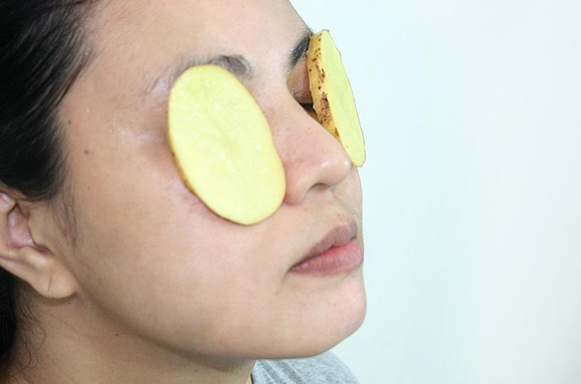 Картофель от мешков под глазами (как применять, рецепты, маски)