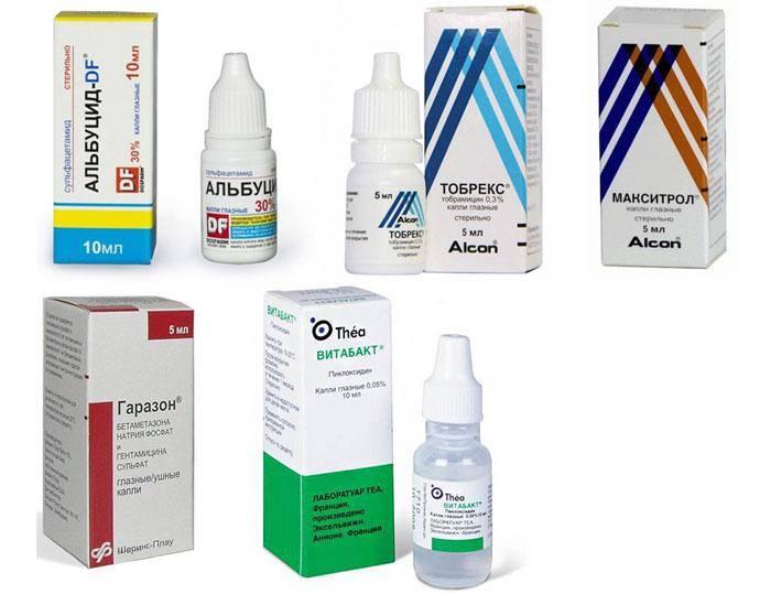 Блефарит: лечение, капли, мази (аналоги и дешевые средства)