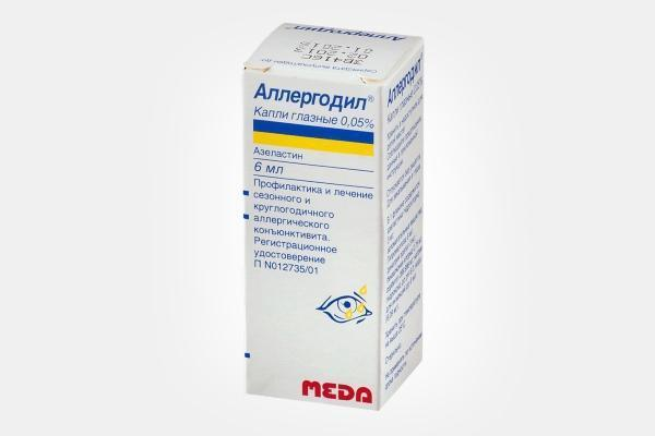 Глазные капли аллергодил: описание, инструкция по применению, аналоги, цена и отзывы