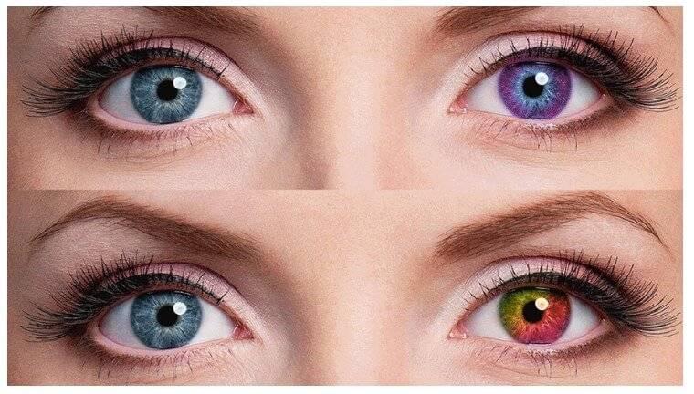 """Как изменить цвет глаз: методы коррекции - """"здоровое око"""""""
