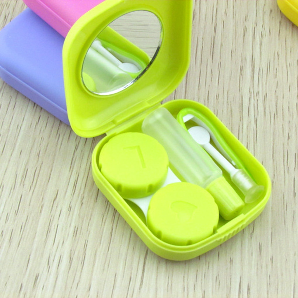 Как правильно ухаживать за контейнером для контактных линз и как часто нужно его менять? - ваши глаза