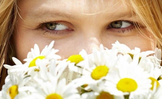 Компрессы для глаз от синяков, мешков, усталости из чая и пр