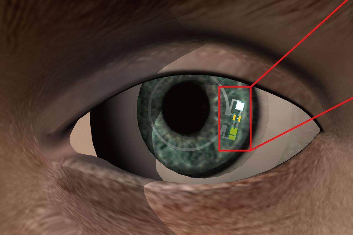 Умные электронные контактные линзы