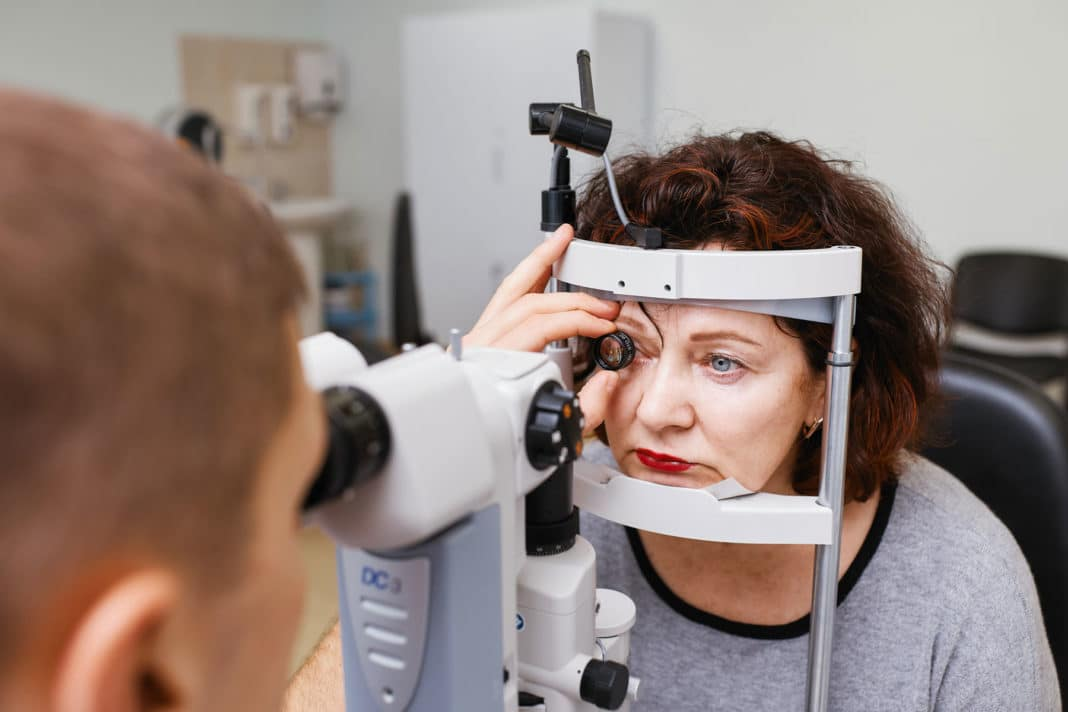Осмотр и исследование глазного дна