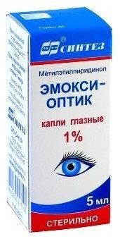 Эмокси-оптик капли глазные - инструкция, цена, отзывы