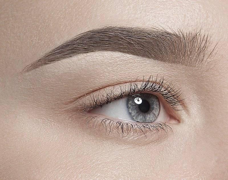 Татуаж бровей - волосковый метод: фото до и после, отзывы